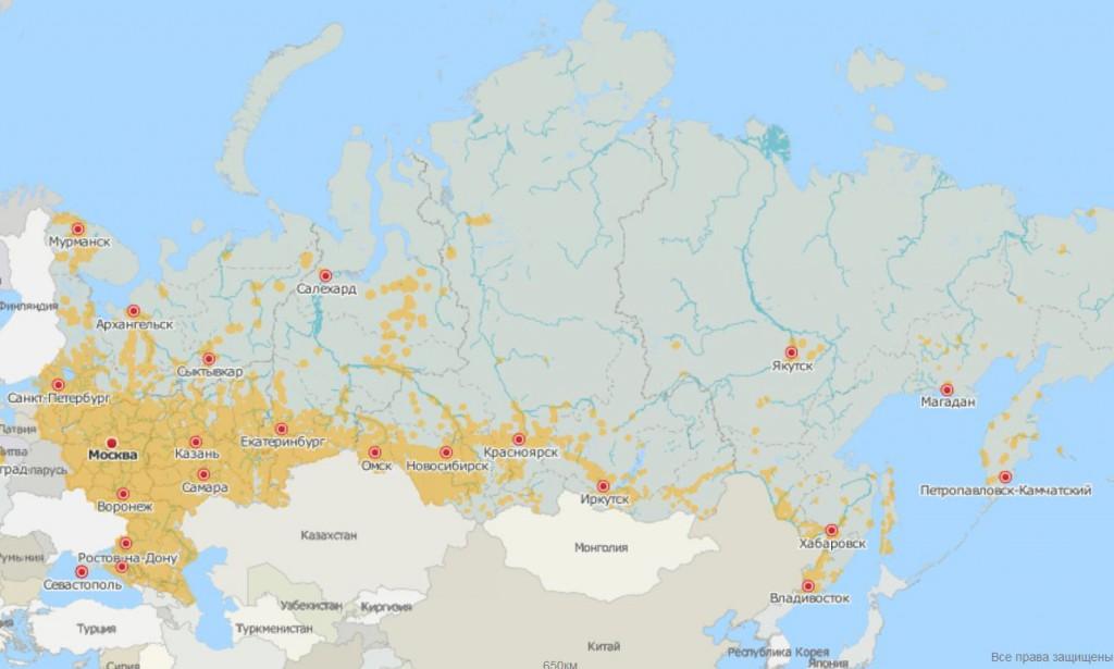 Карта Московской области Подробная карта Московской