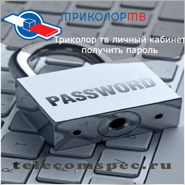 Триколор тв личный кабинет — получить пароль