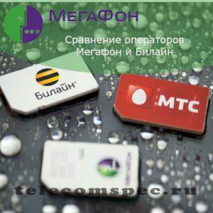 Мегафон и Билайн